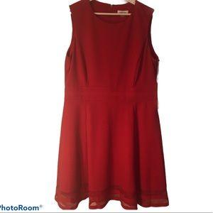 By Kelvin Klein Classic Little Red Dress